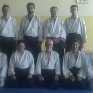 Compañeros españoles en Annecy