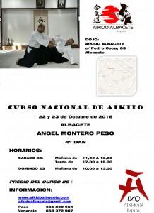 Curso Ángel Montero 2016
